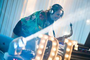Hire DJ with Sax